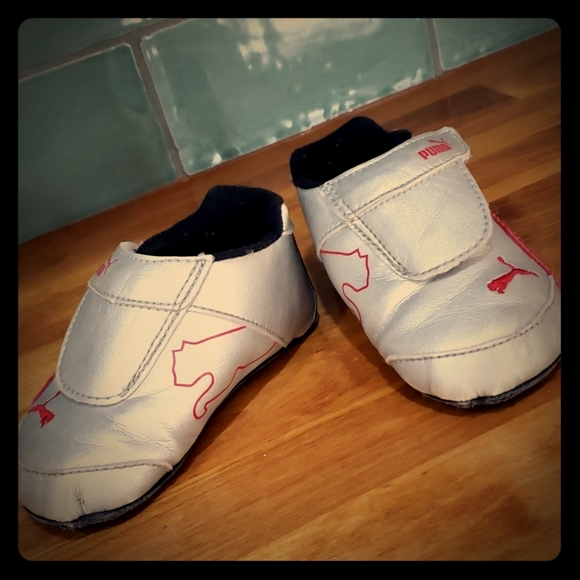 Puma Shoes   Softsole Baby Booties Size
